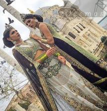 Latest Mehndi Green Embroidered Blouse with White Back Trail Lehenga and Dark Blue Dupatta