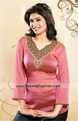 Ladies-Clothes–Pink-kurti
