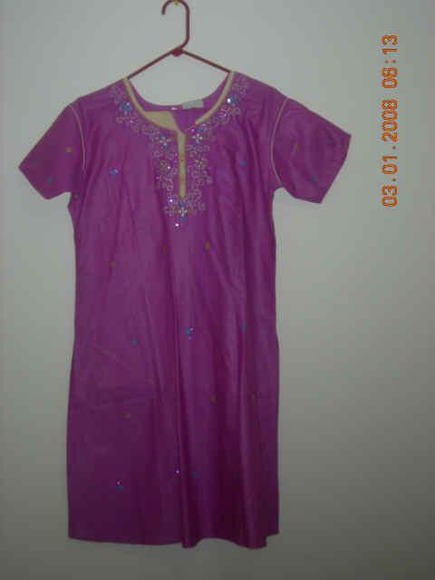 Ladies Wear – Purple kurta
