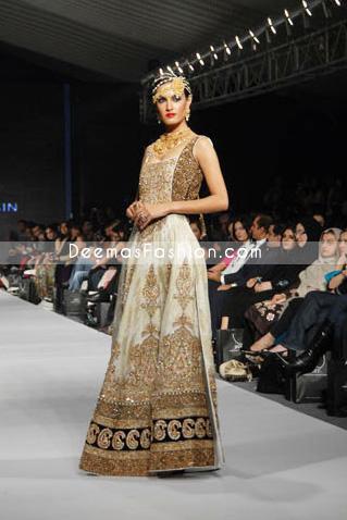 Latest Fashion Clothes – Chinese Style white Pishwas Dress