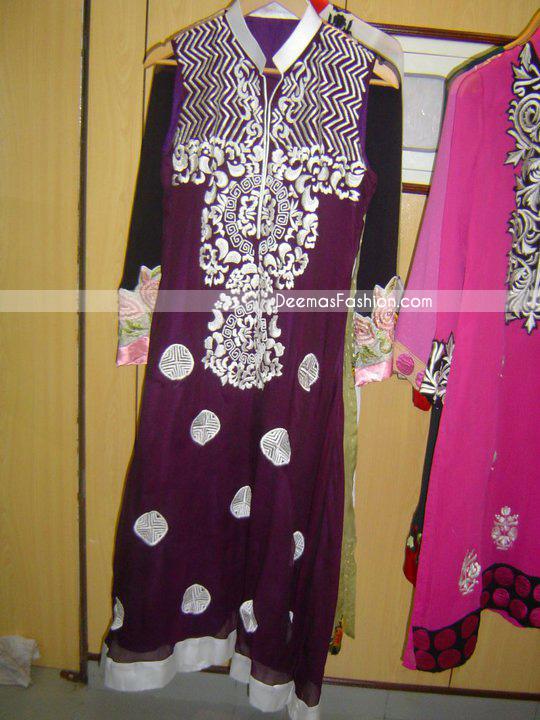 Latest Ladies Fashion – Dark Purple Casual Wear