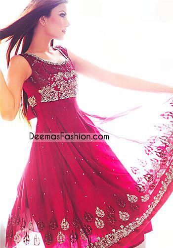 Latest- Pakistani-Stylish-Anarkali-dress-041