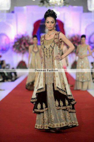 Multi Pannel Anarkali Pishwas