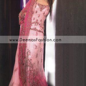 Pakistani Bridal Fashion – Shocking Tea Pink Lehnga