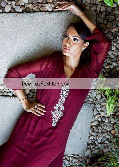 dark-maroon-casual-aline-dress1