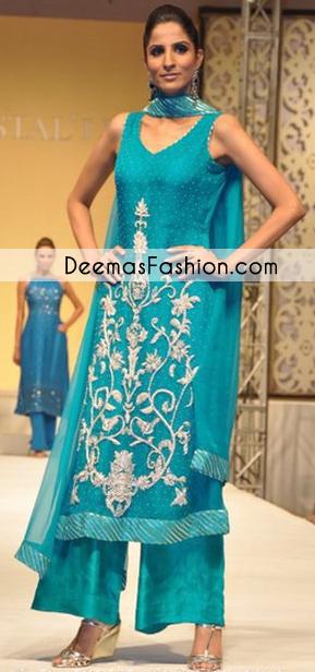 ferozi-aline-party-wear-dress1