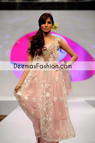 Light Pink Casual Wear Aline Dress