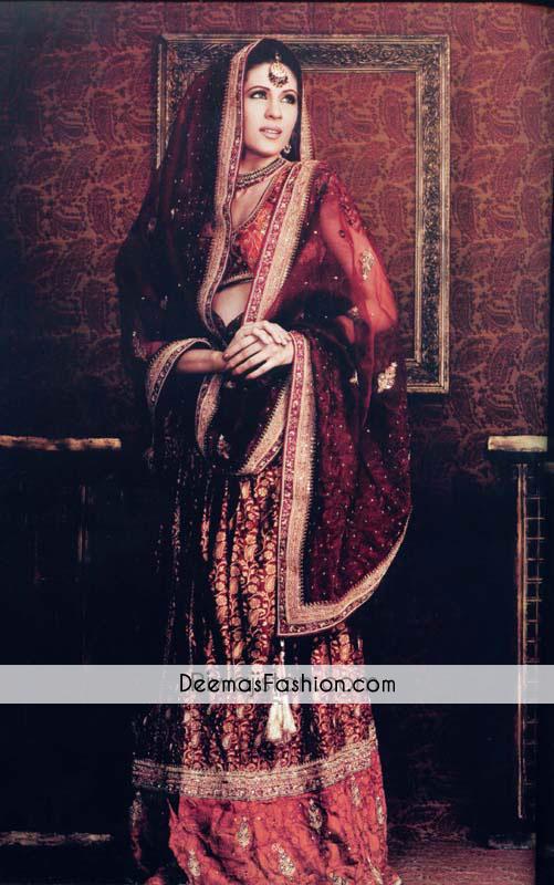 maroon-red-bridal-wear-lehnga1