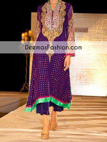 Purple Aline Formal Wear Dress